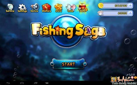 download game fishing saga mod apk fishing saga mod tiền game bắn c 225 khủng long cho android