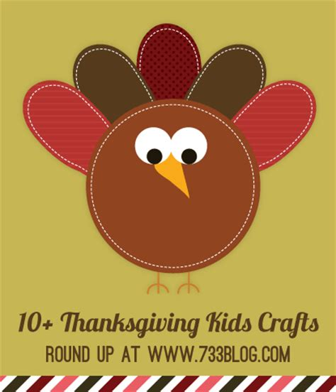 printable thanksgiving crafts for toddlers thanksgiving turkey kids craft with free printables