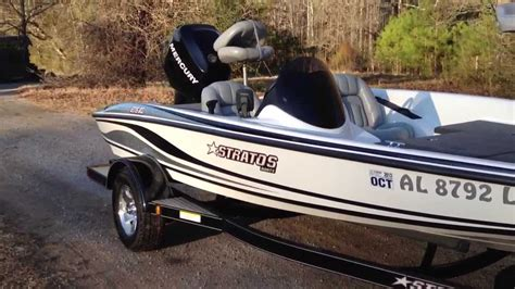 stratos boat owners tournament sold for sale 2007 stratos 275xl bass boat 115 optimax