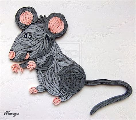 quilling mouse tutorial 454 best images about craft ideas mice on pinterest
