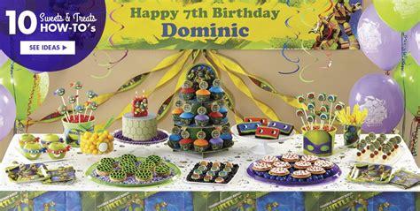 Teenage mutant ninja turtles party supplies ninja turtle birthday ideas party city