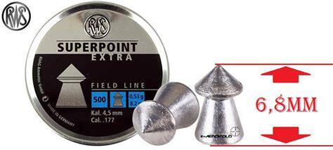 Rws Superpoint Rws Point 45mm βολίδες rws superpoint 4 5mm 500 αεροβόλα όπλα e