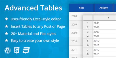 wordpress layout table 5 powerful and mobile responsive table plugins for