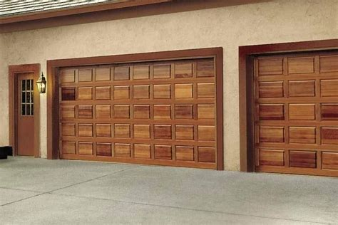 Wood Garage Doors Cost Decorating Wood Garage Doors Prices Garage Inspiration For You Abushbyart
