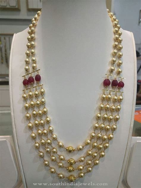 grams gold pearl haram gold jewellery design gold pearl