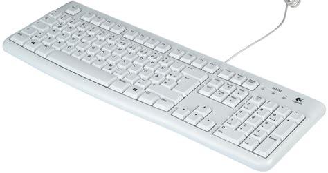 Keyboard Elektronik logitech k120fbw keyboard usb light grey at reichelt elektronik