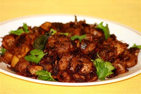 third kitchen pork fry kerala style pork ularthiyathu