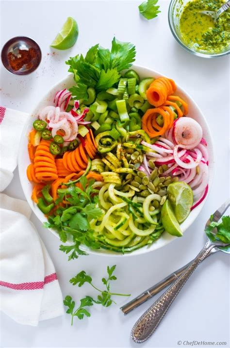 Celery Detox Salad by Celery Detox Salad With Cucumber And Zucchini Recipe