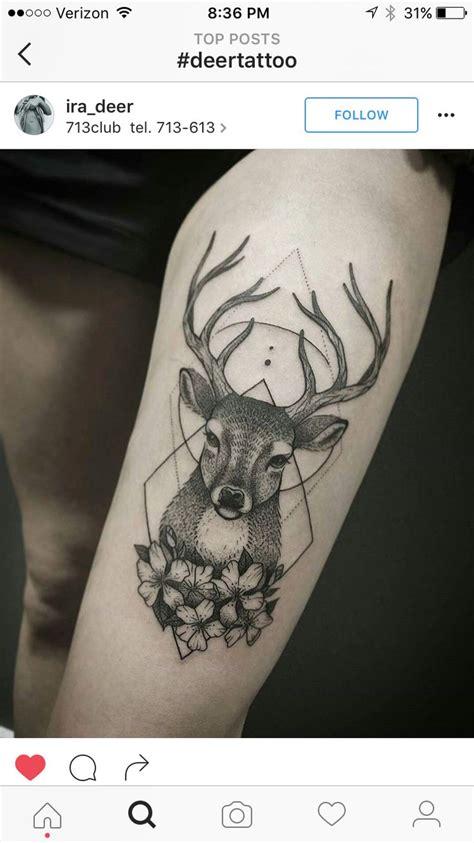 Tattoo Eyebrows Red Deer   25 best ideas about deer tattoo on pinterest reindeer