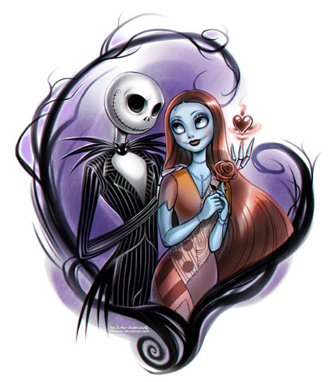 tattoo nightmares u f oh no nightmare before christmas jack and sally by daekazu