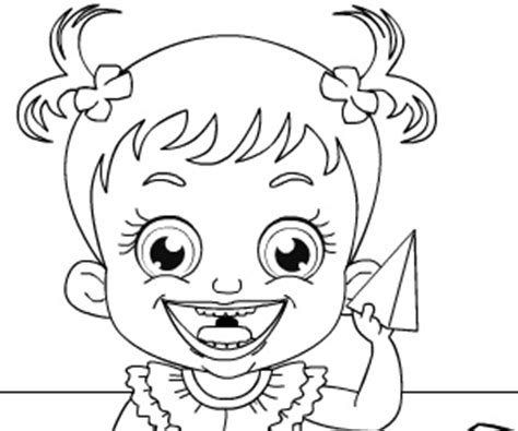 Baby Hazel Coloring Pages | play office slacking 7 game gogza com