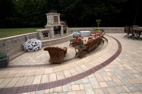 pictures of patios with pavers paver patio ideas landscaping network