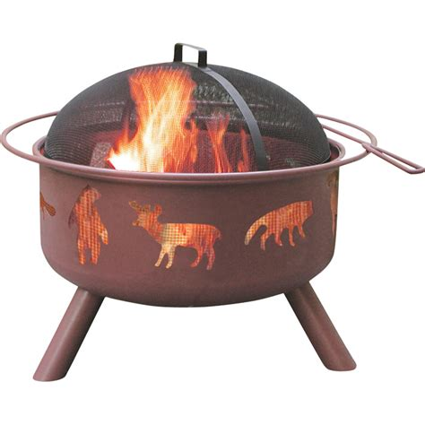 Landmann Fire Pit With Accessories Big Sky Wildlife Firepit Tools