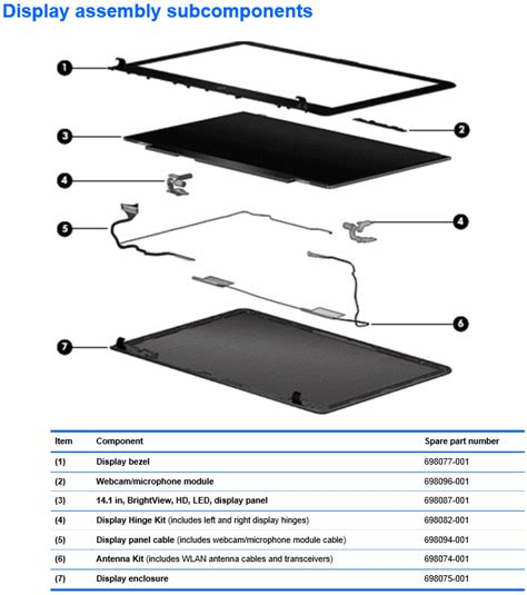 hp laptop parts diagram m4 1115dx screen cover hp support forum 3015575