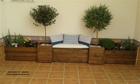 maceteros de madera para interior fotos de los clientes jardineras de madera