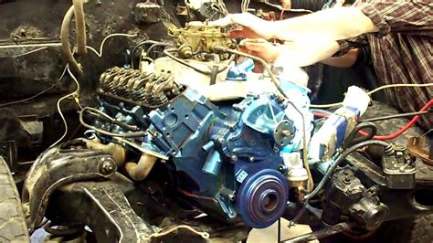 428 pontiac engine running in car mov youtube