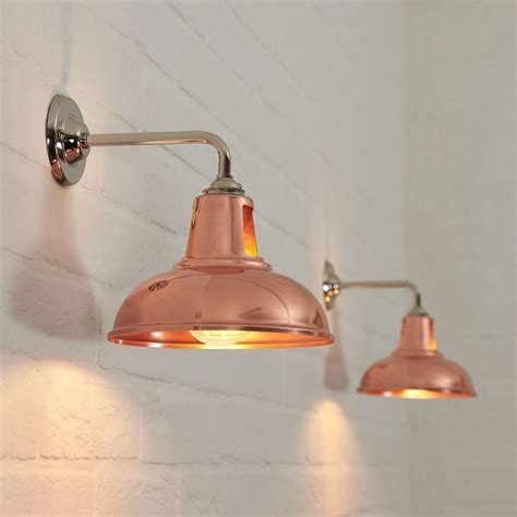 kitchen wall lights best 25 copper lighting ideas on copper