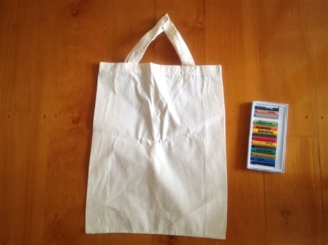 Handmade Shopping - calico bag handmade fabric paint calico shopping bag