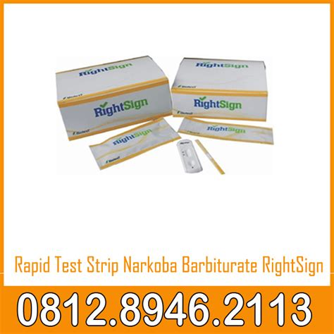Alat Rapid Tes rapid test narkoba barbiturate rightsign