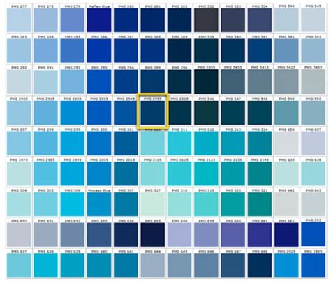 colors of blue shades of blue blue colors accent on design blog
