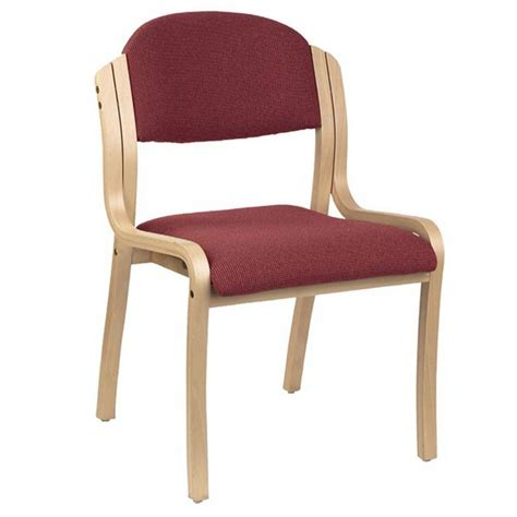 kfi seating wood frame padded stack chair vinyl  padded stack chairs worthington direct