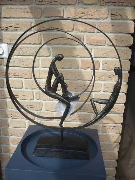 casablanca modernes design casablanca design skulptur quot patience quot bronce s