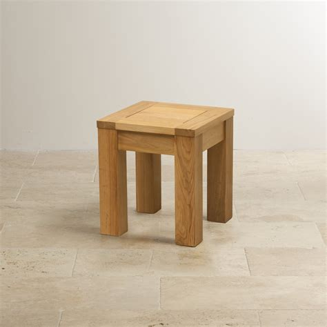 Square Stool by Square Stool In Solid Oak Oak Furniture Land