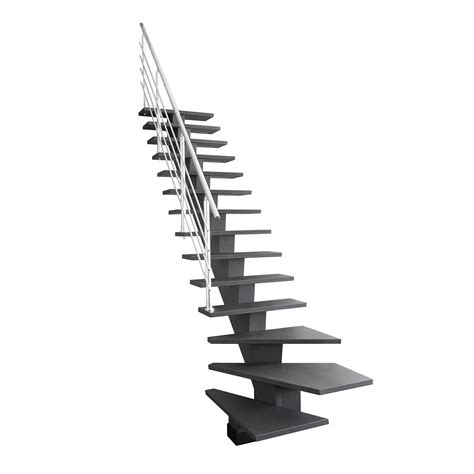 Escalier Quart Tournant Gauche 6822 by Escalier Quart Tournant Bas Gauche Gomera M 233 Dium Mdf