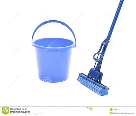 cleaner tool washing the floor with cleaning tools stock photo image