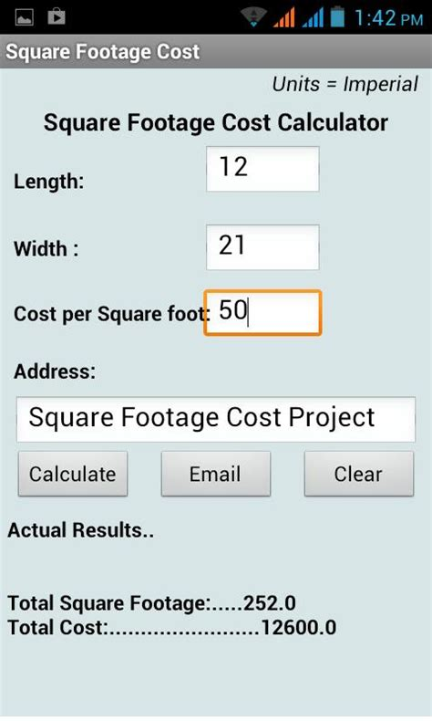 how to calculate square feet square footage calculator android apps on google play
