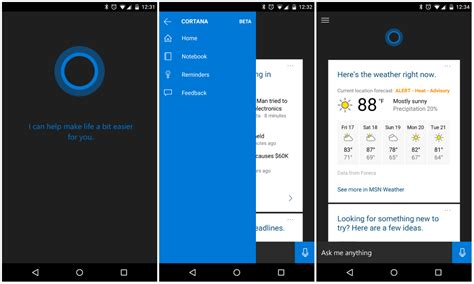 apk here cortana for android leaks out ahead of official launch the apk here