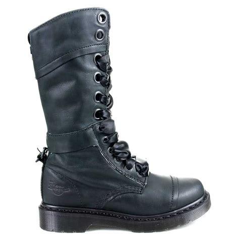 dr martens boots black 1914 triumph shoes branded