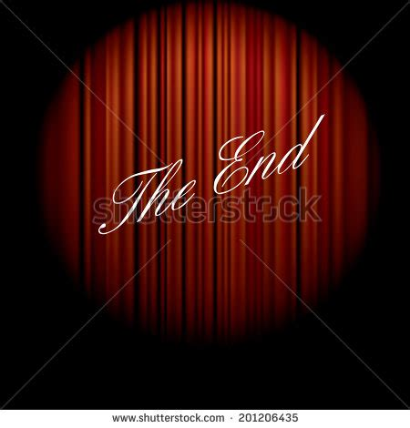 the end curtains the end movie stock photos images pictures shutterstock