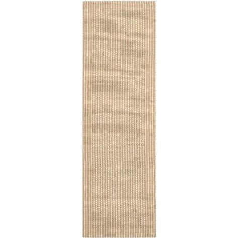 2 X 8 Runner Rugs with Safavieh Fiber Ivory Area Rug Runner 2 X 8 Nf449a 280
