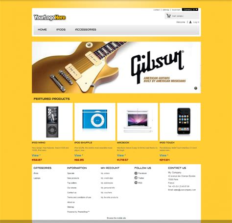 10 best entertainment prestashop website templates