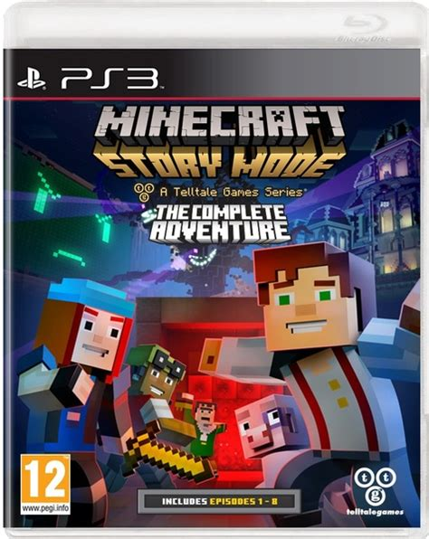 ps3 themes minecraft story mode minecraft story mode the complete adventure ps3 video