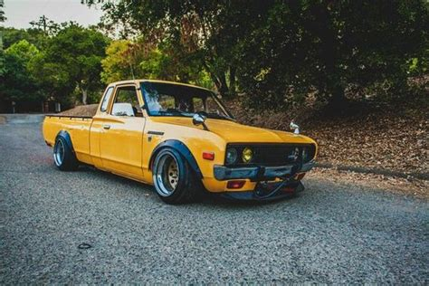 slammed nissan truck ca slammed 1978 datsun 620 king cab 5 speed stanceworks