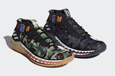 bape x adidas dame 4 release date justfreshkicks
