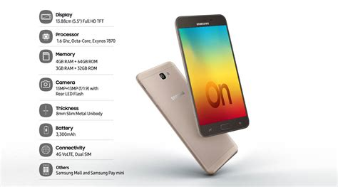 Samsung O 7 Samsung Galaxy On7 Prime Specs Price And Detailed Review Techno Faq