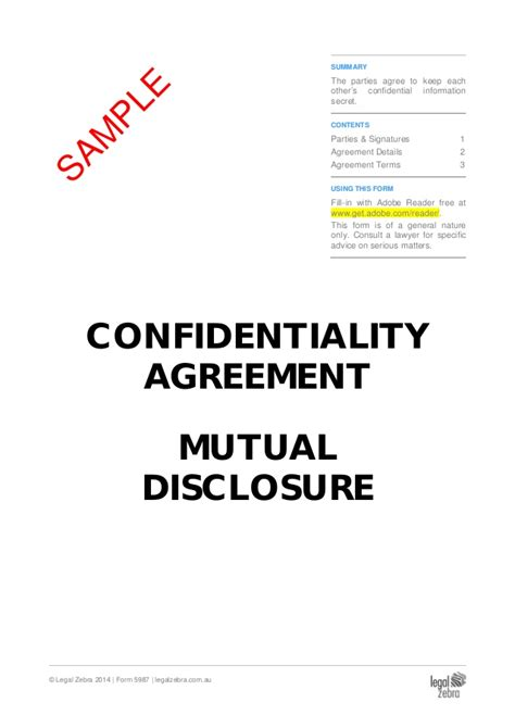 Letter Agreement To Maintain Confidentiality Of Information confidentiality agreement sle
