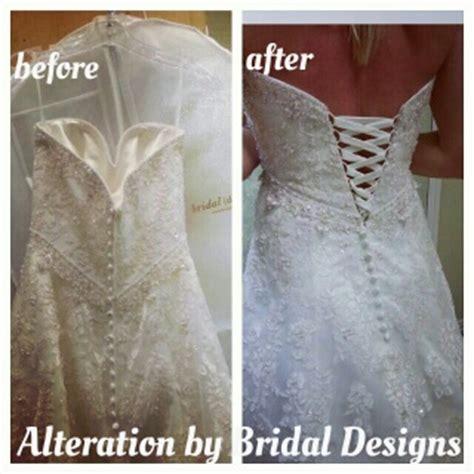 Wedding Dress Zipper To Corset by Best Wedding Dress Alterations Dallas Fort Worth Bridal