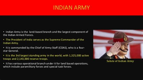 Indian Army Presentation By Arun Kalesh Indian Army Ppt