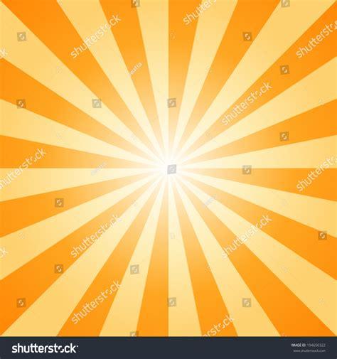 light beautiful vector free background created from many sunburst orange light vector illustration stock vector