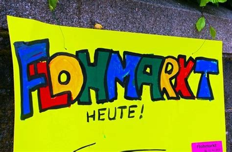 Plakat Verkauft Gewinnspiel by Flohmarkt In Vaihingen Kein Tr 246 In Der Vaihinger Mitte