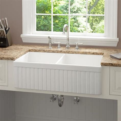fireclay farmhouse sink 33 inch farmhouse kitchen sink photos