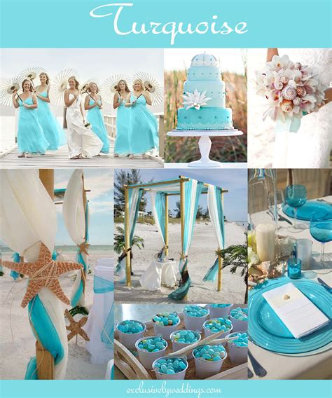 colour themes for a wedding your wedding color how to choose between teal turquoise