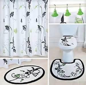 black and white bath rug ebay
