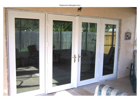 replacing sliding glass door with doors 27 replacement