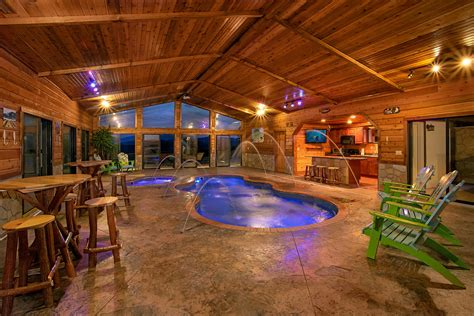 Cabins With Indoor Pools Gatlinburg Tn by Gatlinburg Cabins With Indoor Pools For Rent Elk Springs