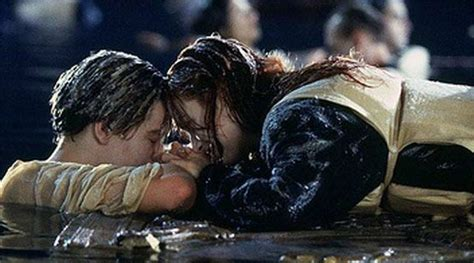 titanic film last scene kate winslet on titanic end jack could have fitted on